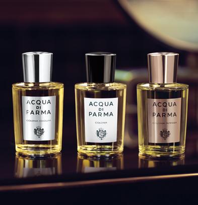 Acqua di Parma Colonia, Perfumerías Regia